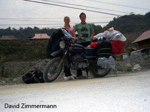 . David Zimmermann and Sarah, Offroad Vietnam Motorbike Adventures - Minsk Motorcycle Tour North Trip Report