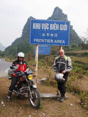 Offroad Vietnam Motorbike Adventures - 72-Year Old Rider Riding Grand Loop. John Stone and Allan Jory (England)