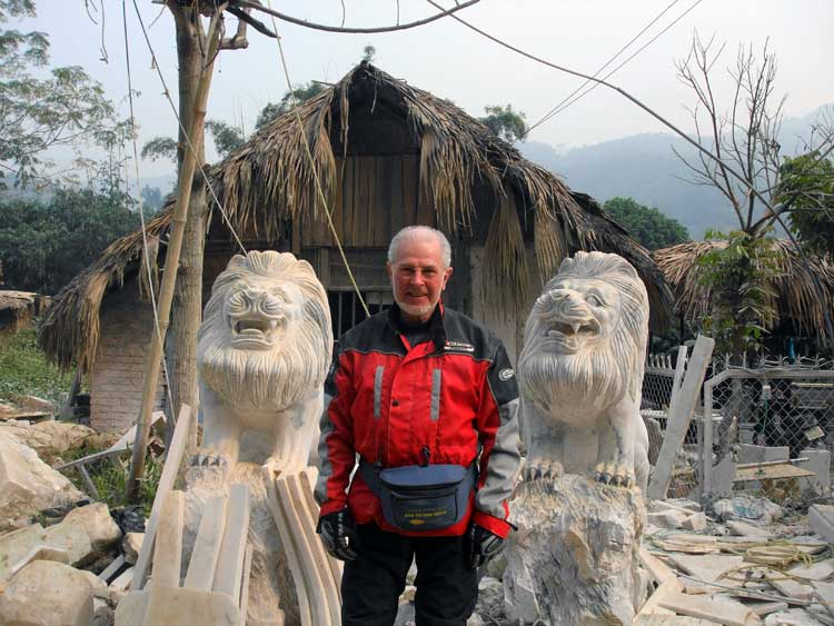 Offroad Vietnam Motorbike Adventures - 72-Year Old Rider Riding Grand Loop. John Stone from England