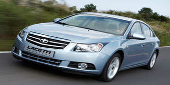 Offroad Vietnam Motorbike Adventures - Airport Transfers In Hanoi: GM Daewoo Lacetti 4 Seats White or Sky Blue