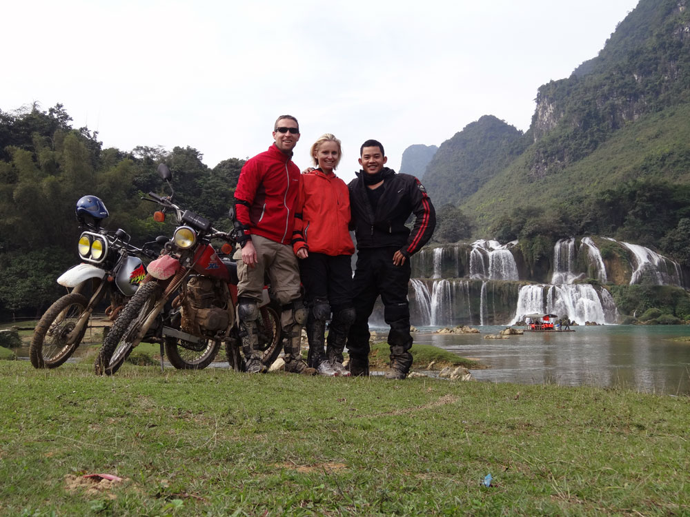 Offroad Vietnam Motorbike Adventures - Mr. Avril Lubbe & Mr. David Anderson's Reviews Of North-East Vietnam Motorbike Tour (England)