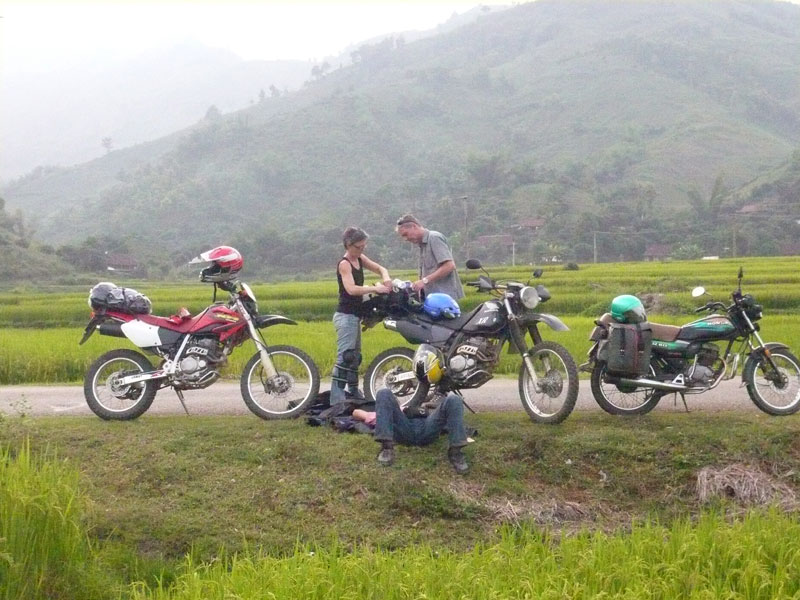 Offroad Vietnam Motorbike Adventures - Mr. Bernt & Mrs. Carina Andersson's Reviews Of North-Centre Vietnam Motorbike Tour (Sweden)