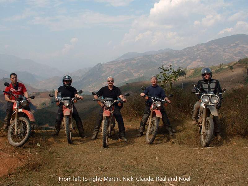 Offroad Vietnam Motorbike Adventures - Mr. Noel Farrey's Reviews (England), Big North Vietnam motorcycle tour reviews