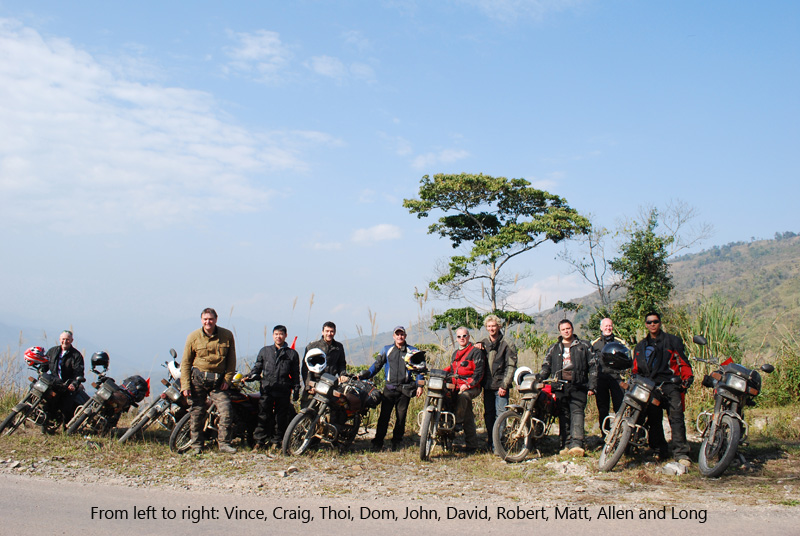 Offroad Vietnam Motorbike Adventures - Mr. Allen Edward Jonos' Reviews (England), Northwest Vietnam motorcycle tours reviews