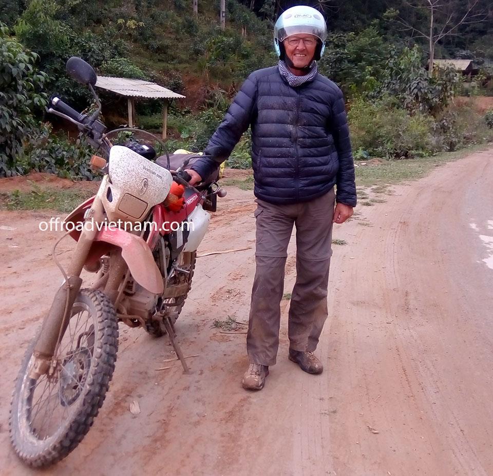 Offroad Vietnam Motorbike Adventures - Mr. Jacques Mevel's Reviews (France)