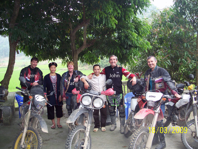 Offroad Vietnam Motorbike Adventures - Ms. Patricia Hitchcock's Reviews (Australia), Northwest Vietnam motorcycle tours reviews