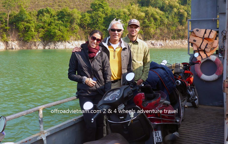 Offroad Vietnam Motorbike Adventures - Mr. Michael Bender's Reviews, Mr. Jared Bender & Ms. Vanessa Bender in Vietnam 2014