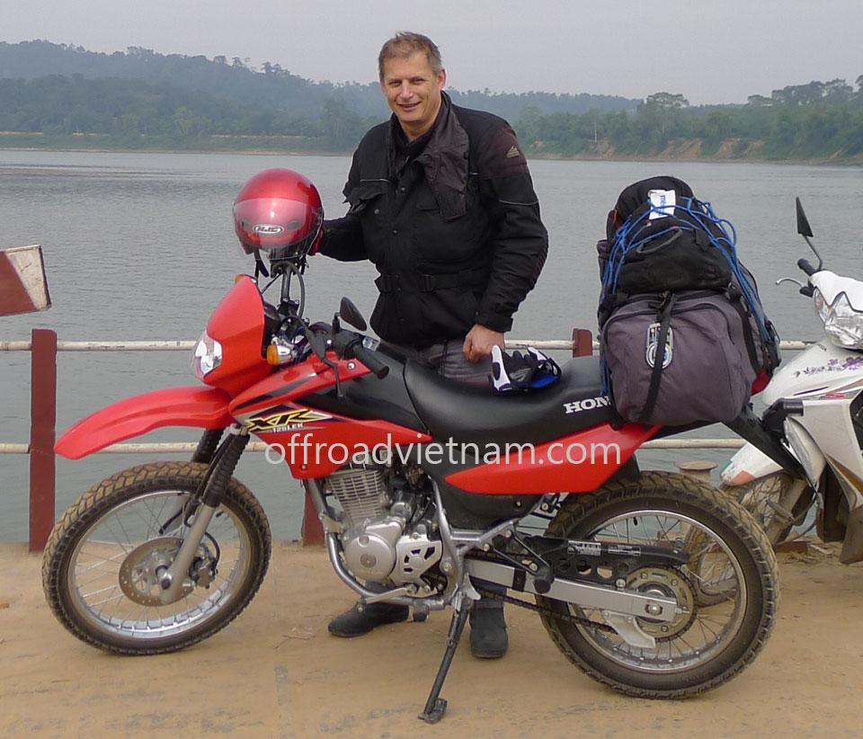 Offroad Vietnam Motorbike Adventures - Mr. Michel P. Triel's Reviews (France)