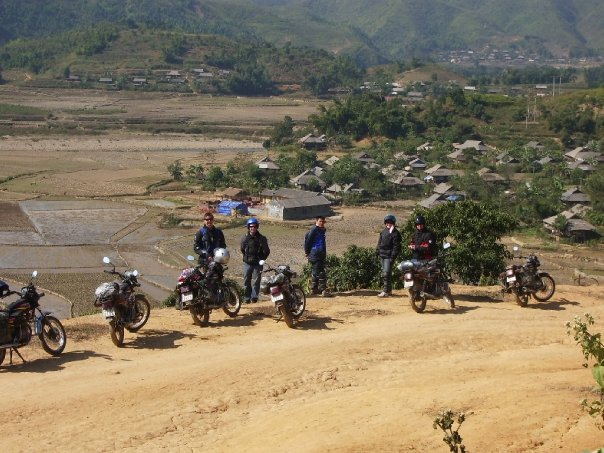 Offroad Vietnam Motorbike Adventures - The Nobles' Reviews: Mr. Peter Noble, Mrs. Mandy Noble, Ms. Phoebe Noble, Mr. David Noble and Ms. Mitchell Noble's Reviews Of Big Northern Loop Vietnam Motorbike Tour (Australia), Big North Vietnam motorcycle tour reviews