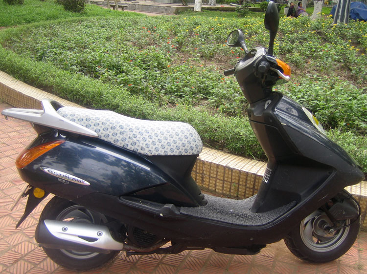 Offroad Vietnam Motorbike Sale - Dark Honda @Stream 125cc For Sale, brown color, Drum & Disc brake