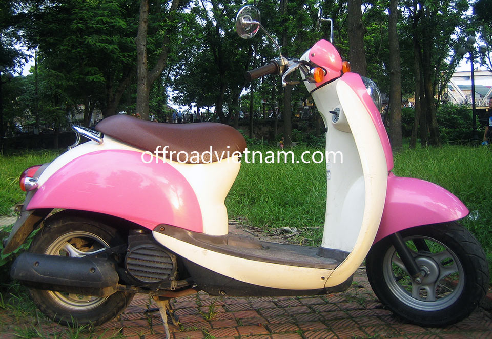 Offroad Vietnam Scooter Rental - Honda Crea Scoopy 50cc In Hanoi. Honda Crea Scoopy 50cc: Honda Crea Scoopy Automatic Classic Scooter 50cc Ping