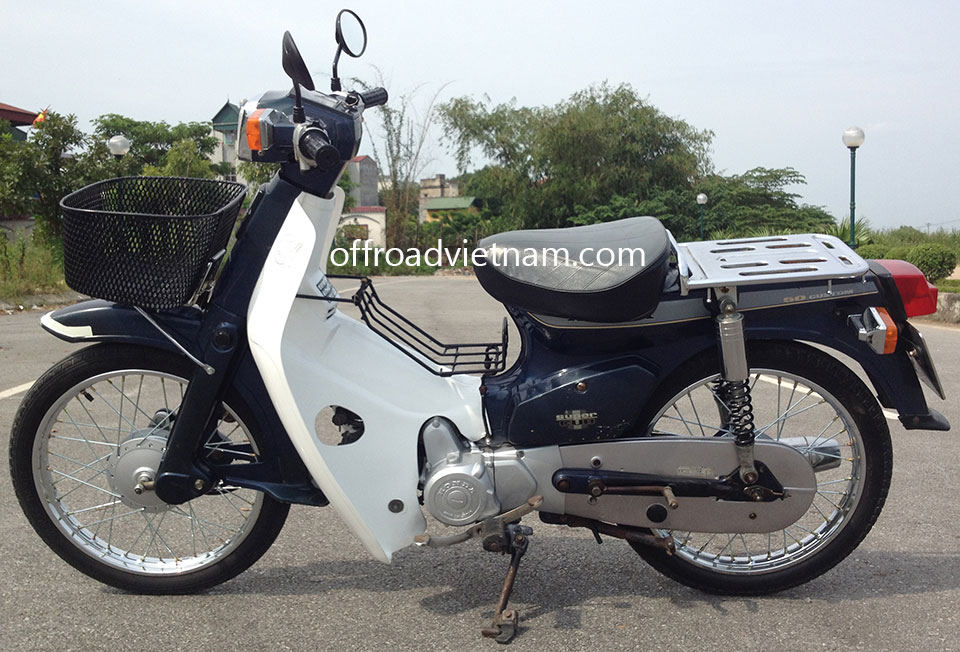 honda super cub 50cc hanoi offroad vietnam scooter rental. Black Bedroom Furniture Sets. Home Design Ideas