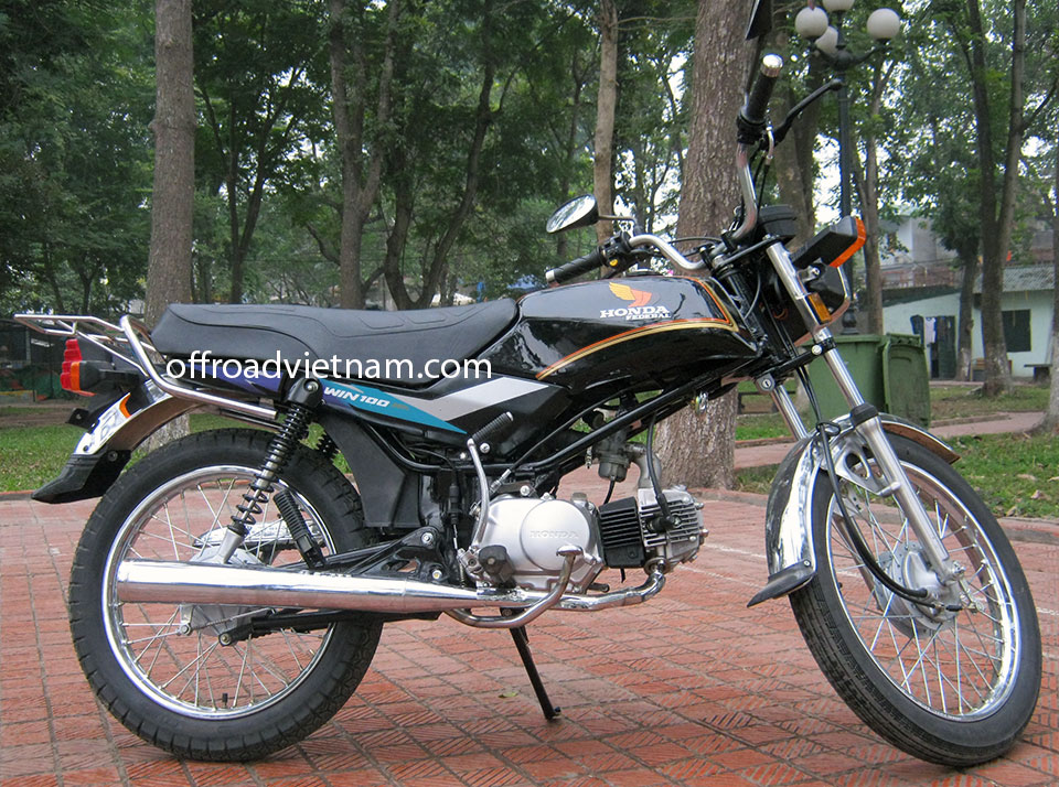 Offroad Vietnam Motorbike Sale - Honda Win 100cc For Sale In Hanoi: Rebuilt Honda Win Light Refreshed Sport 100cc Black, Drum brake