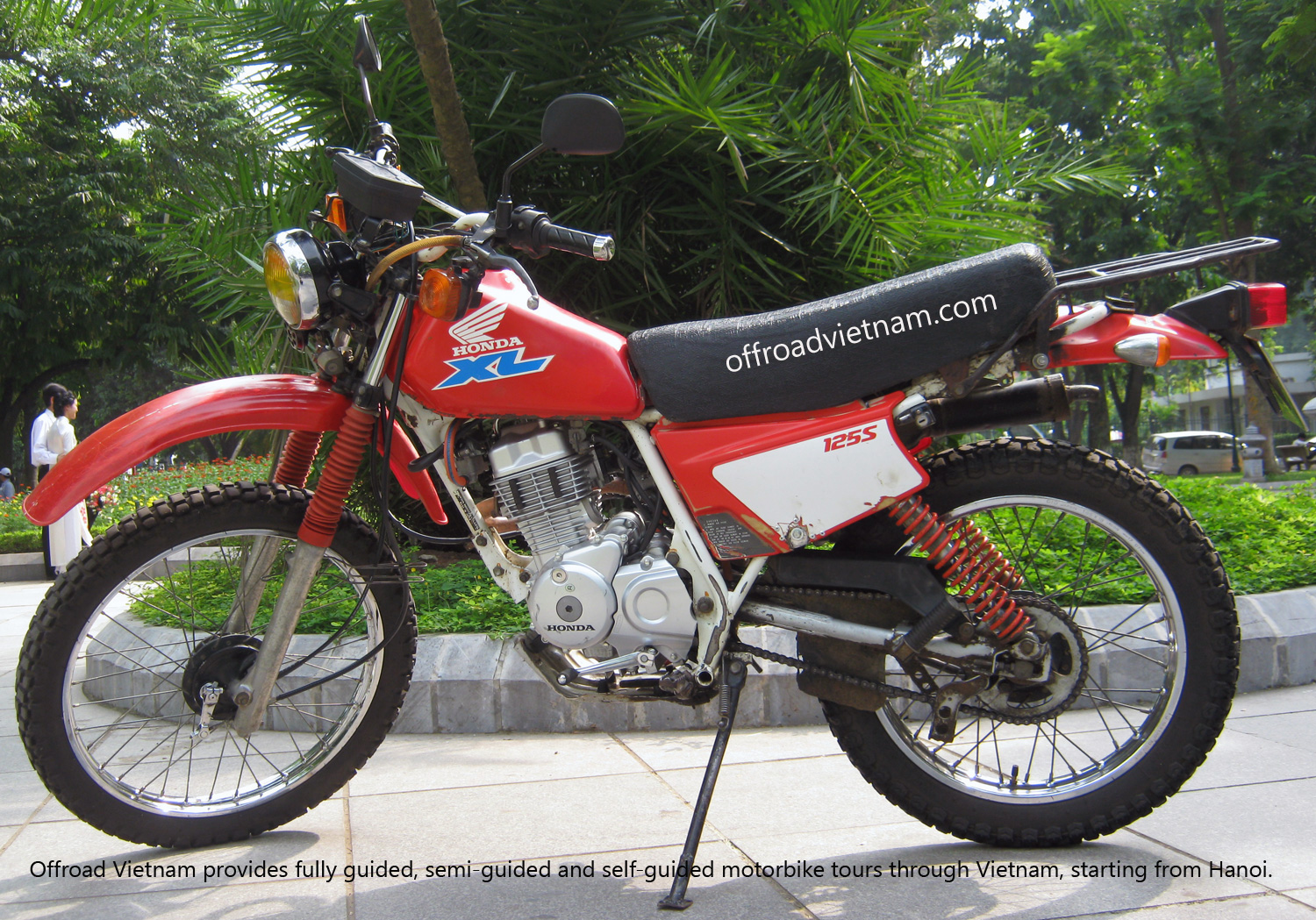 Offroad Vietnam Motorbike Sale - Honda XL125 Dirt Bike For Sale In Hanoi