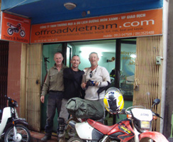 Offroad Vietnam Motorbike Adventures - Office Maps Location: Offroad Vietnam motorcycle adventure office