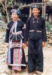 Offroad Vietnam Motorbike Tours - 54 Groups: Lu People Of Vietnam. Lu people, Nhuon and Duon minority, Lu ethnie, montagnard