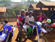 Offroad Vietnam Motorbike Adventures - Off-road Dirt Bike Enduro Tours Thailand. 9 day wilderness adventure