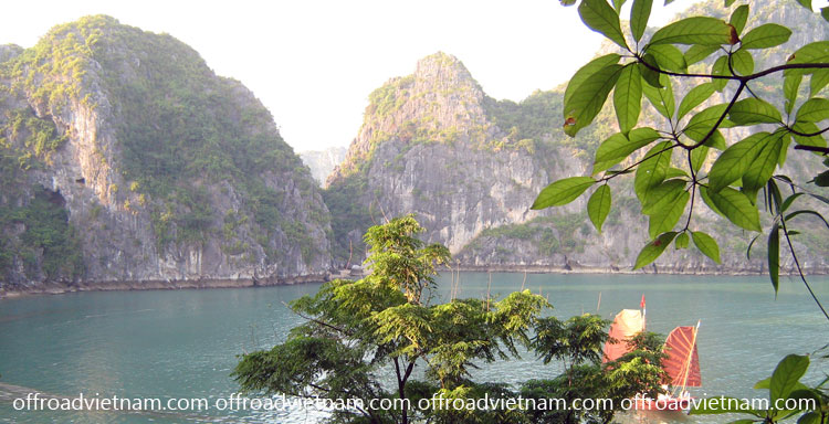 Offroad Vietnam Motorbike Adventures - Cruise Kayak Tours In Vietnam: Cruising Halong Bay, a Vietnam's World Heritage Site. From Offroad Vietnam.