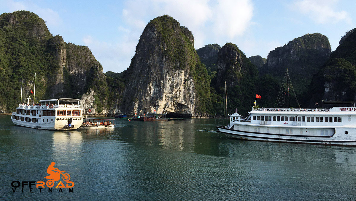 Offroad Vietnam Motorbike Adventures - 10 Days Northeast And Halong Bay Cruise.