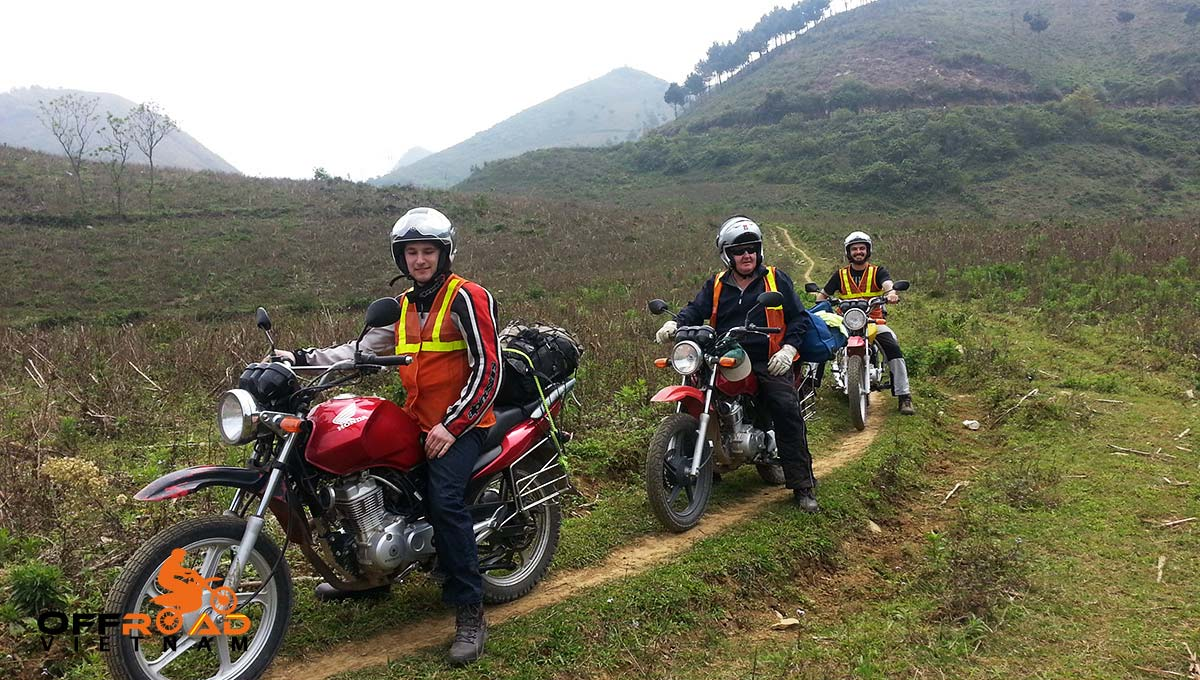 Offroad Vietnam Motorbike Adventures - 3 Days On Hoang Lien Range by Motorbike via an off-road track.