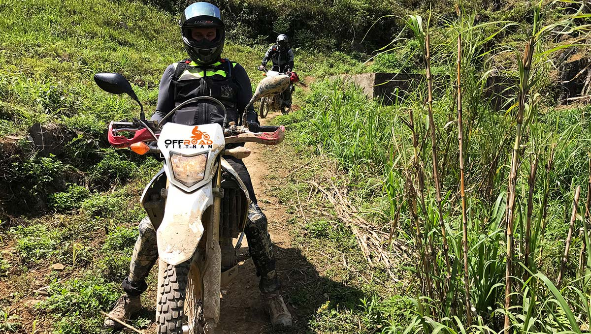 Offroad Vietnam Motorbike Adventures - 4 Days Delta Motorbike Tour Home staying in Mai Chau, Song Thao & Vu Linh.