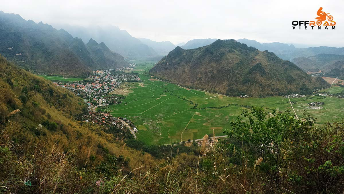 5 Days Easy Northcentre Vietnam Motorcycle Adventure. Home Staying in Mai Chau.