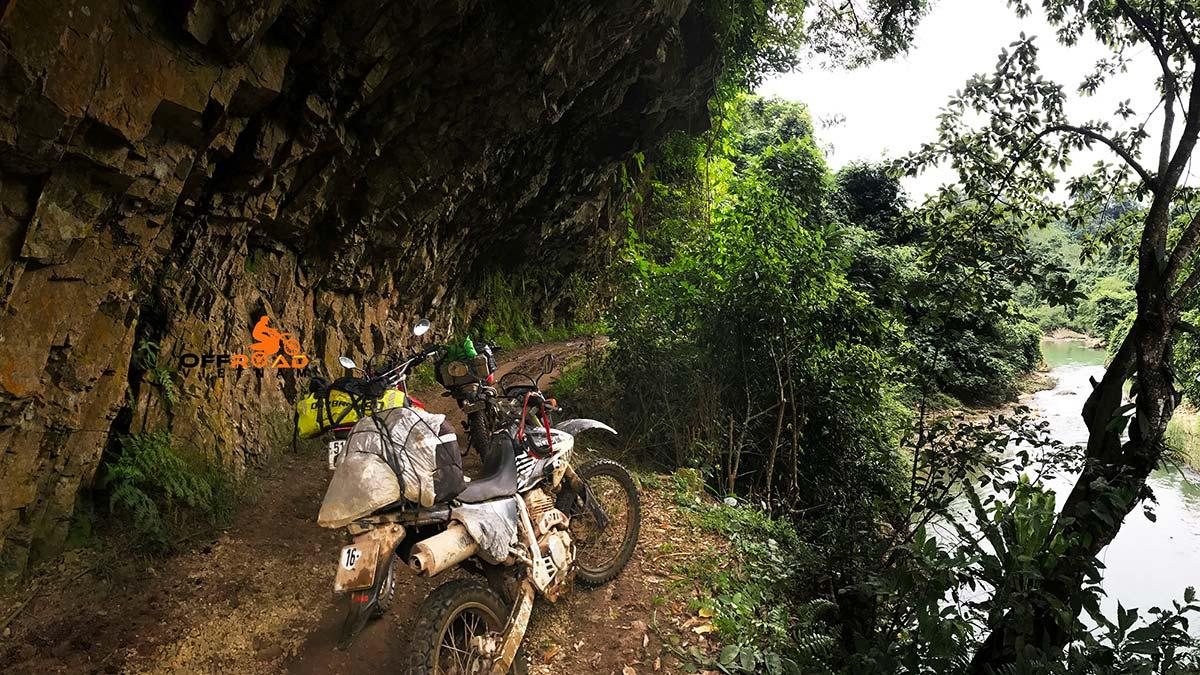 Offroad Vietnam Motorbike Adventures - 6 days Central North Vietnam homestaying via Ba Be lake.