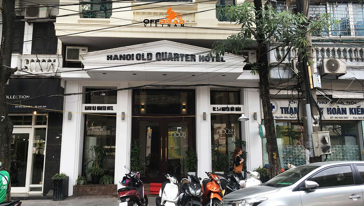 Hotel room reservation in Hanoi with Hanoi Old Quarter Hotel.