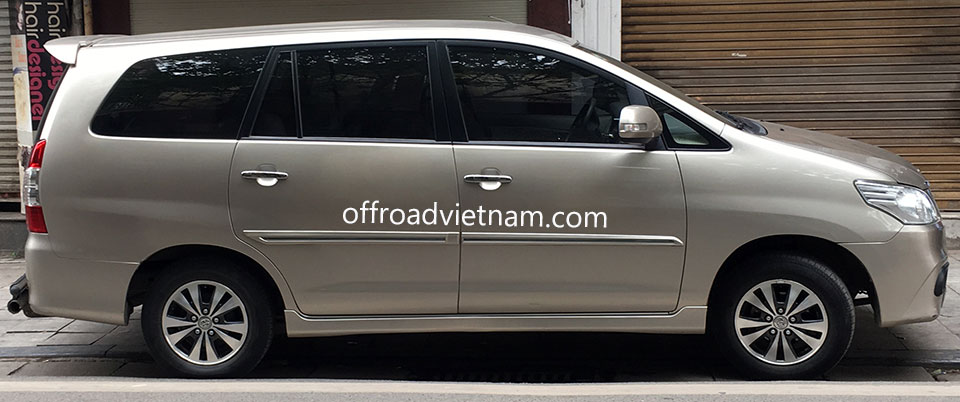 Offroad Vietnam Motorbike Adventures - Airport Transfers In Hanoi: Small car 7 seats
