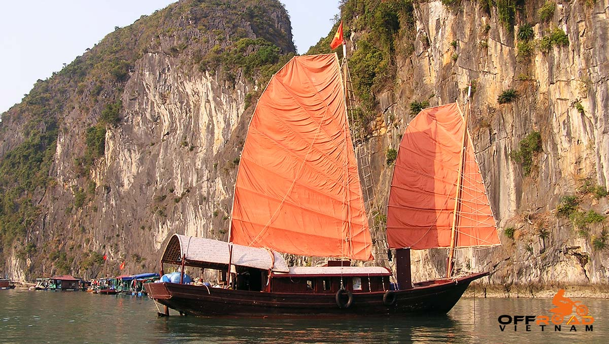 Offroad Vietnam Motorbike Adventures - Two Halong Bays In 6 Days Motorbike Tour. Boating in Halong Bay and Cat Ba.