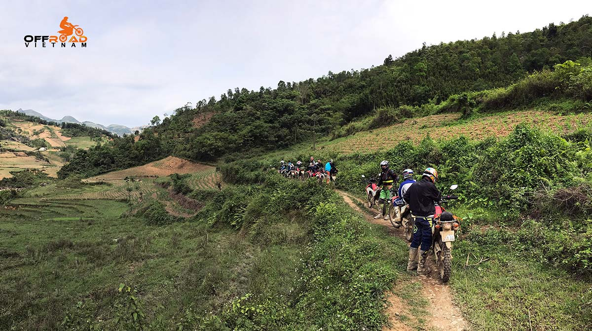 Offroad Vietnam Motorbike Adventures - Big North Vietnam in 9 days motorbiking with off-road ride in Mau Son.