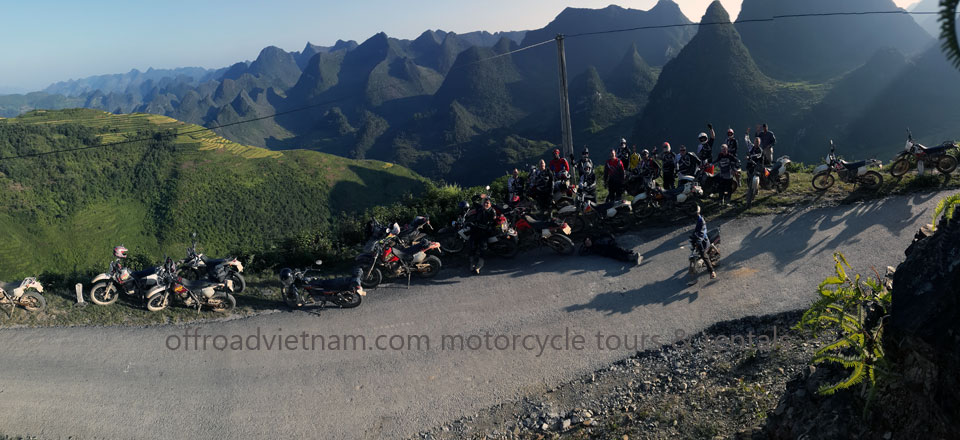 Offroad Vietnam Motorbike Adventures - Riders Age For Off road Motorbike Tours. Largest motorbike group with 17 Kiwi riders in September 2013 from Offroad Vietnam motorbike tours