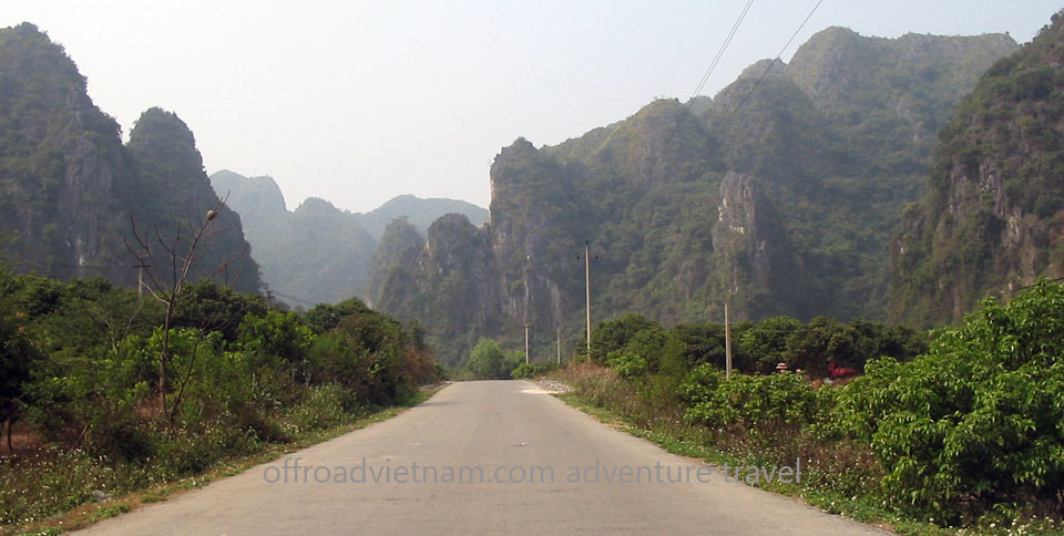 Offroad Vietnam Motorbike Adventures - Halong Bay Motorbike Cruise In 3 Days. Biking