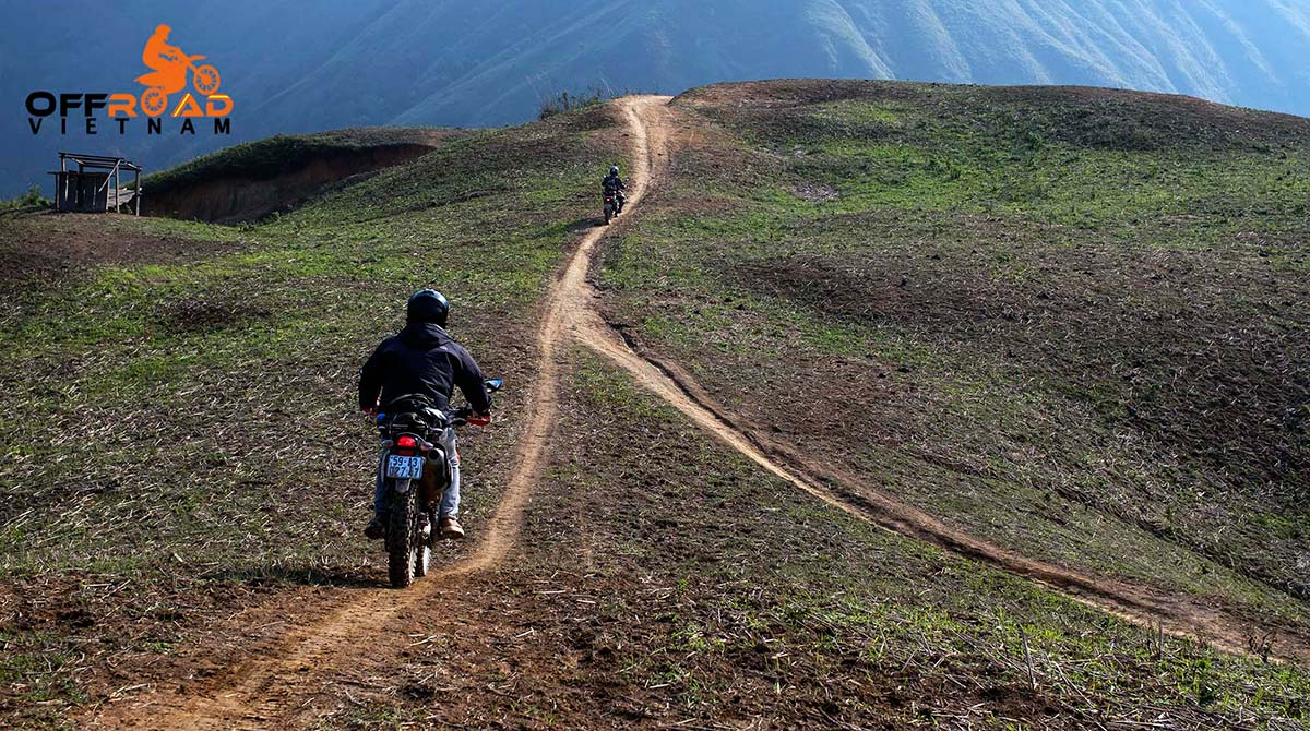 Offroad Vietnam Motorbike Adventures - Central North in 9 days motorcycle tour via rough roads to Ta Xua from Phu Yen.