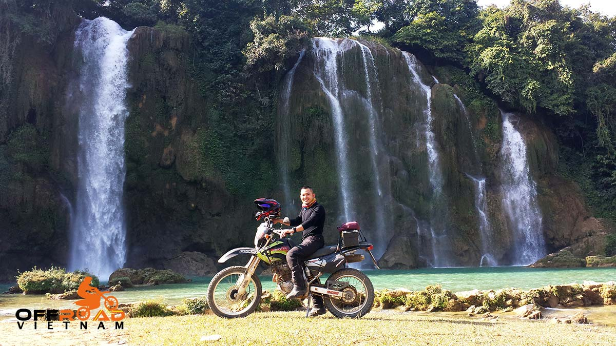 Offroad Vietnam Motorbike Adventures - Challenging Full North Loop In 15 Days via Northeast Highway 4 and Ban Gioc waterfalls.