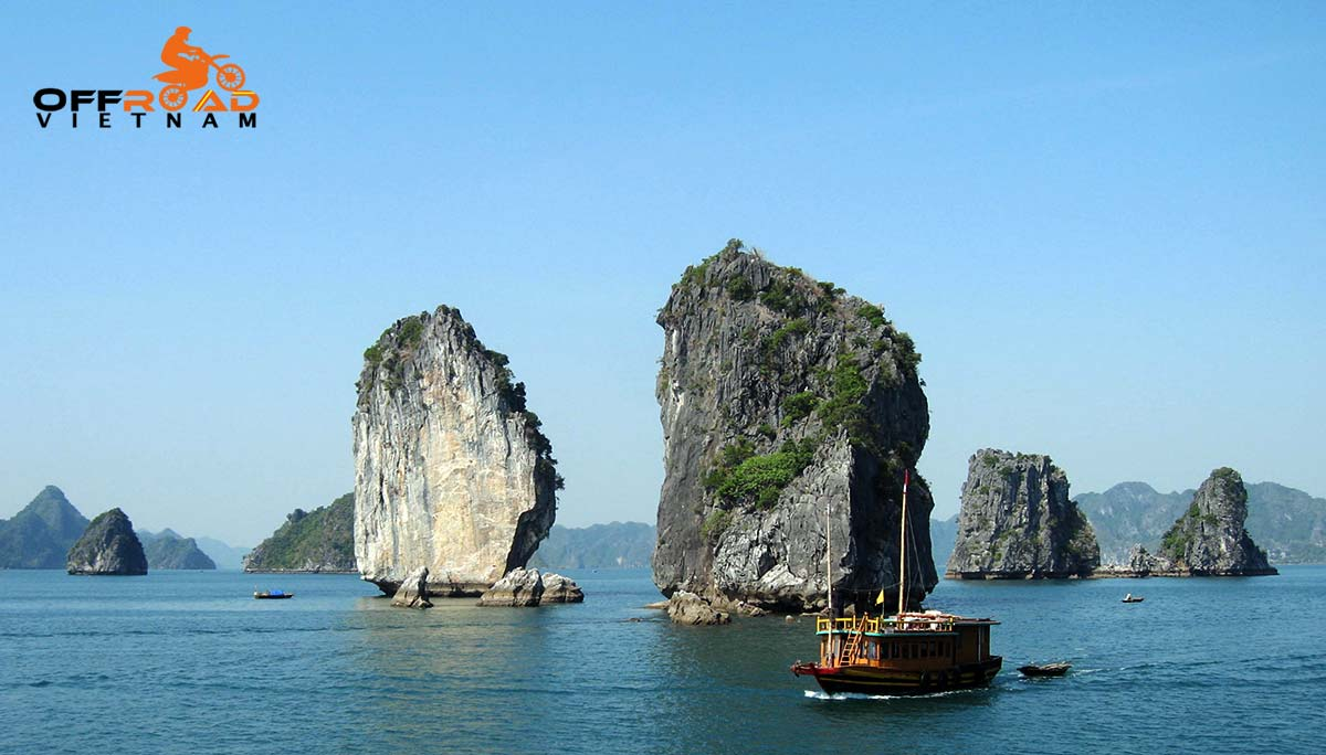 Challenging Grand North Loop In 14 Days. Ha Long Bay cruise and motorcycle tours