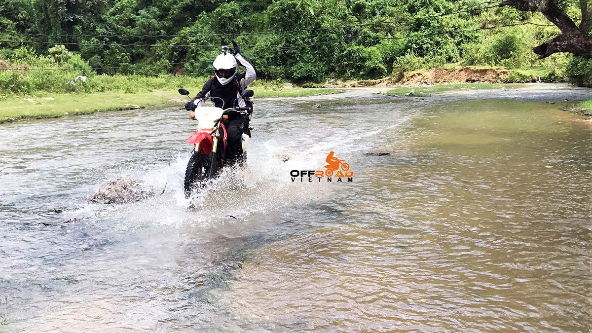 Offroad Vietnam Motorbike Adventures - Challenging Northwest, Northeast 9 days with river crossing in Ba Be.