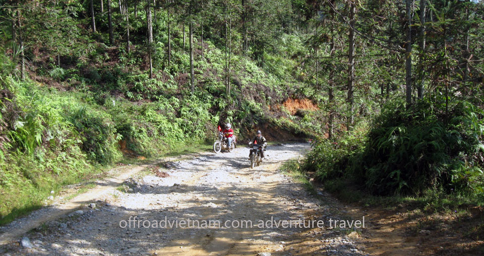 Offroad Vietnam Motorbike Adventures - Challenging 6 Days North Vietnam On Bike. Train Hanoi - Sapa