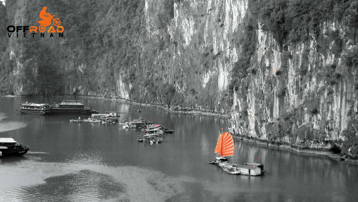 Offroad Vietnam Motorbike Adventures - Easy Delta & Halong Bay 7 days on bike with a fantastic boat cruise.