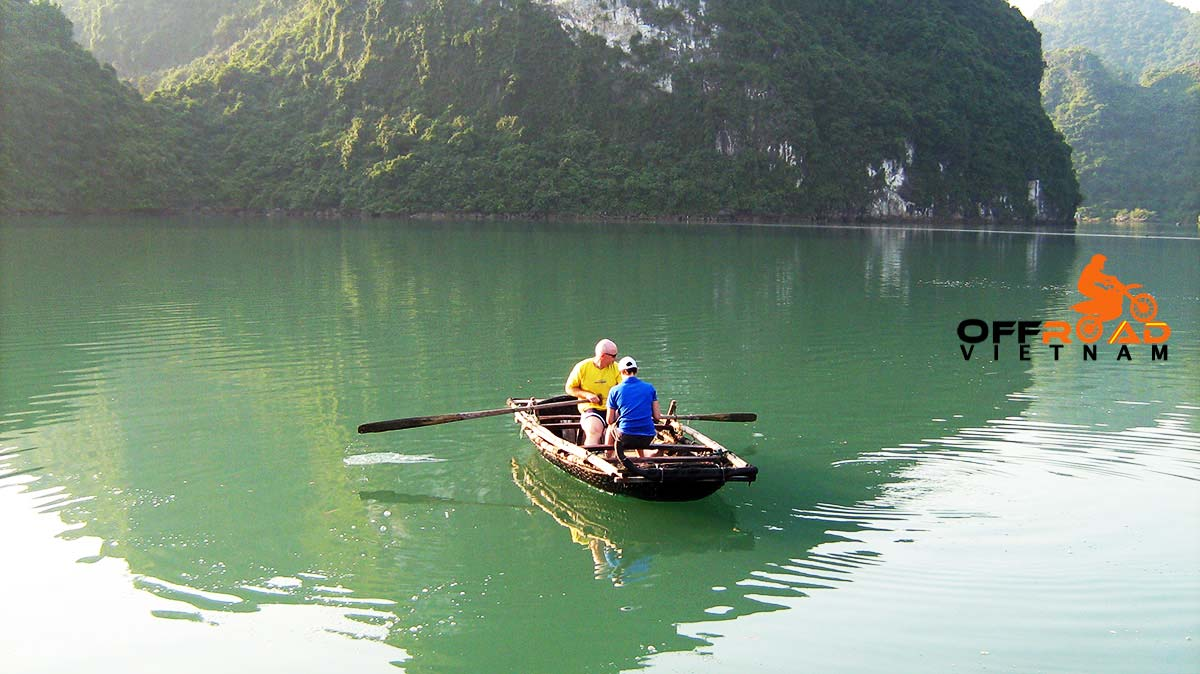 Offroad Vietnam Motorbike Adventures - Fantastic Halong Bay & Cat Ba 3 days by a small fishing boat.