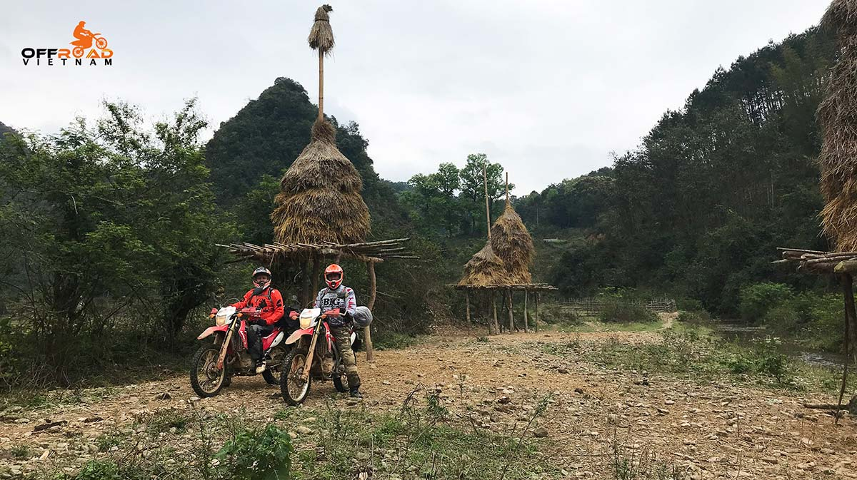 Offroad Vietnam Motorbike Adventures - Fun Central North 5 days motorbike tour via Ba be lake.