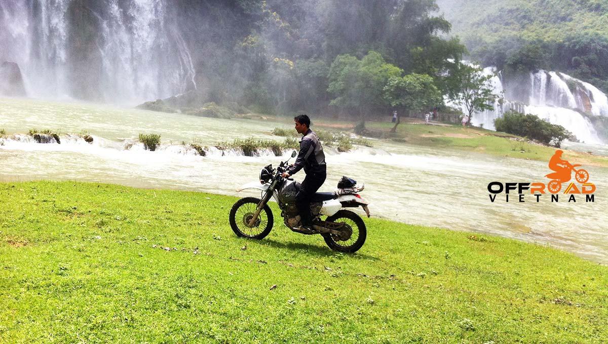 Offroad Vietnam Motorbike Adventures - Fun Northwest & Northeast in 10 days via Ban Gioc waterfalls.