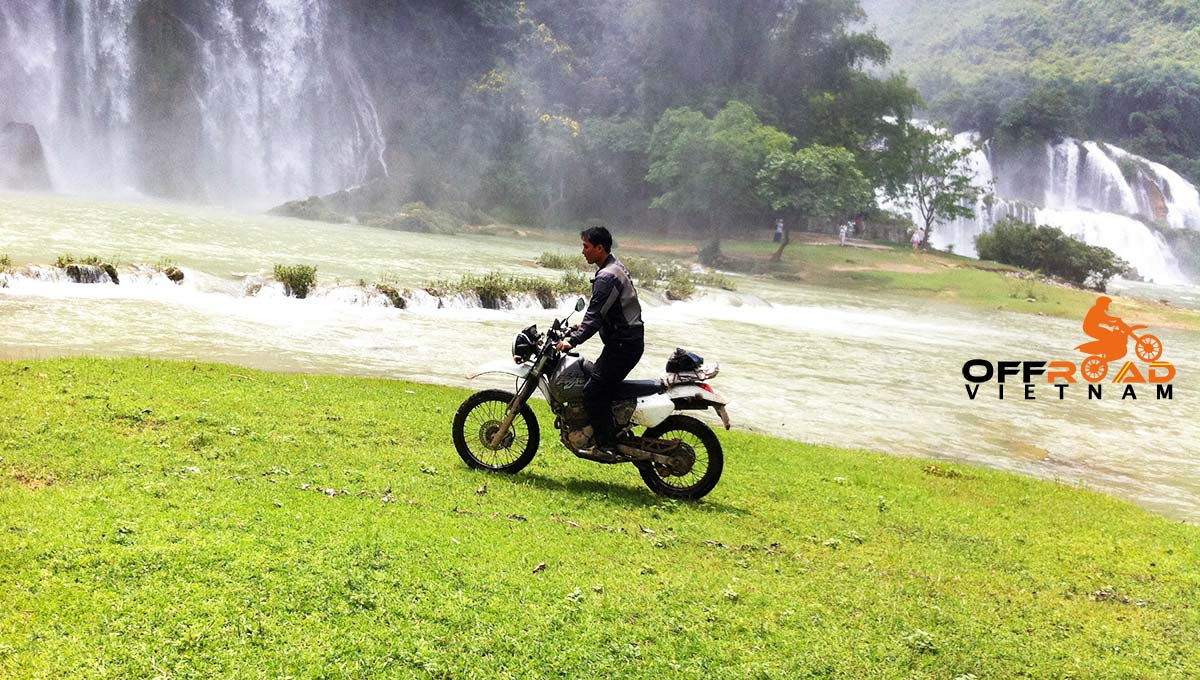 Offroad Vietnam Motorbike Adventures - Fun Northwest & Northeast in 10 days via Ban Gioc waterfalls.