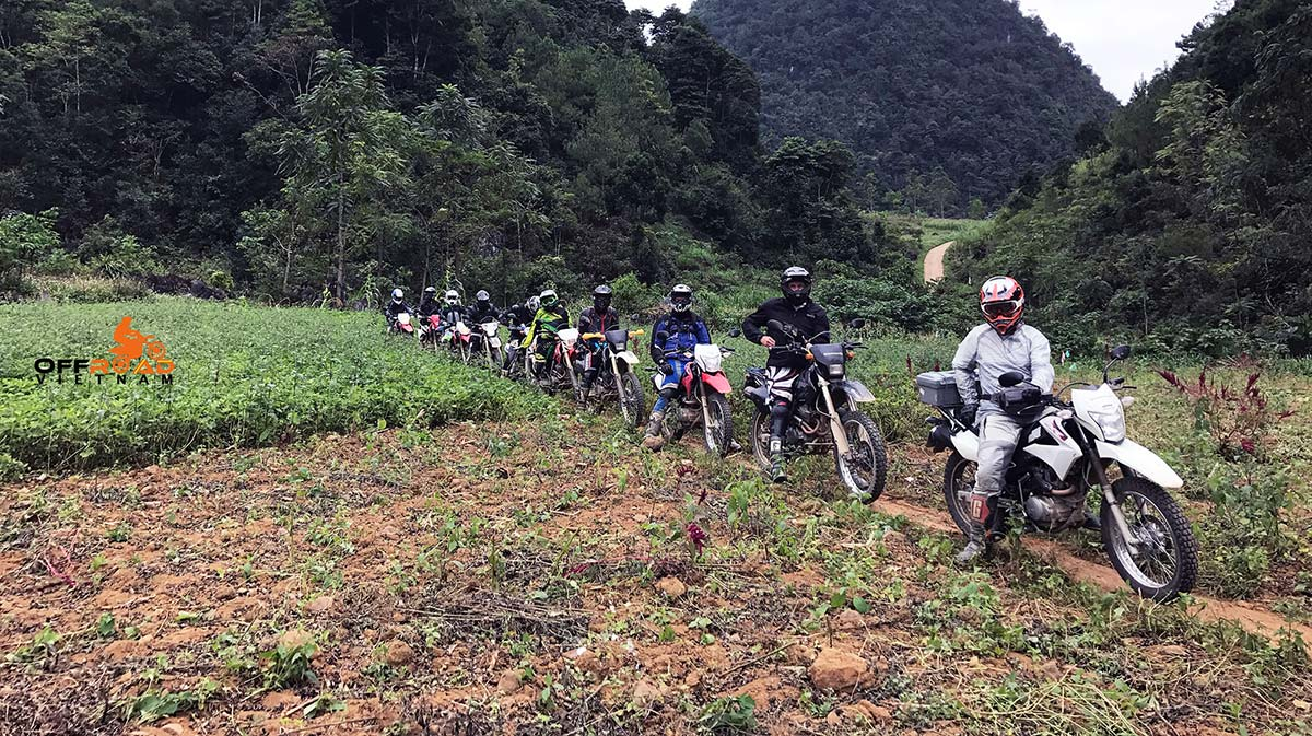 Offroad Vietnam Motorbike Adventures - Grand North loop 13 days motorbike tour via Ba Be lake.