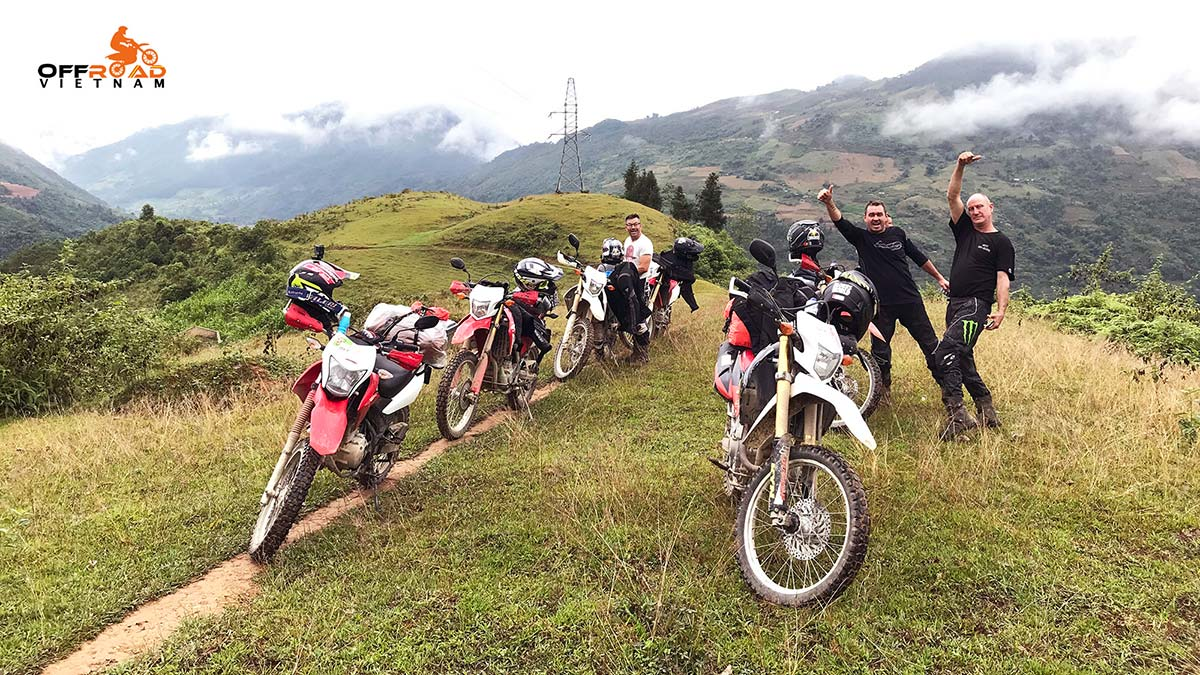 Offroad Vietnam Motorbike Adventures - Great Central North 7 days motorbiking via Sapa.
