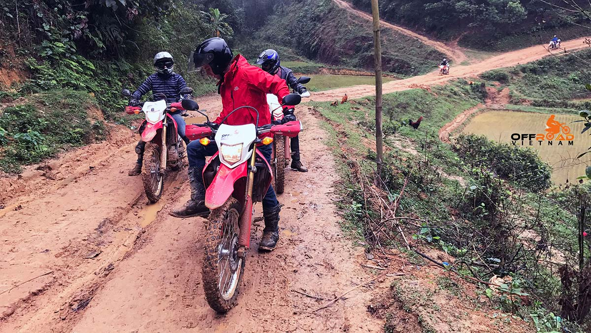 Great North West 7 Days Motorbike Tour. Great Vietnam's North West 7 days motorbike tours via Son La.