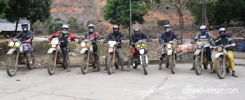 Offroad Vietnam Adventures offers Vietnam motorbike tours, motorcycle adventures and scooter rentals in Hanoi. This photo was taken on a Ha Giang motorbike tour.