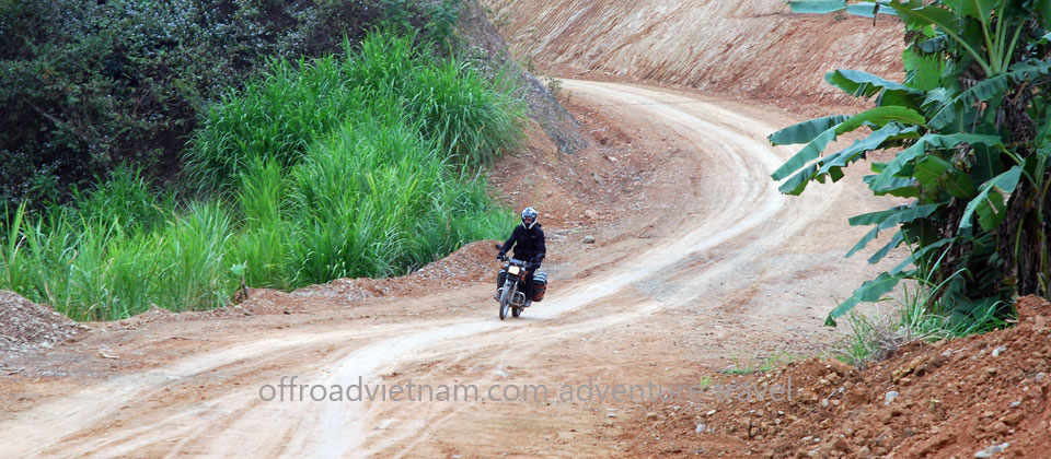 Offroad Vietnam Motorbike Adventures - Long Northern Loop 6 Days Motorbike Tour. Train Hanoi - Lao Cai