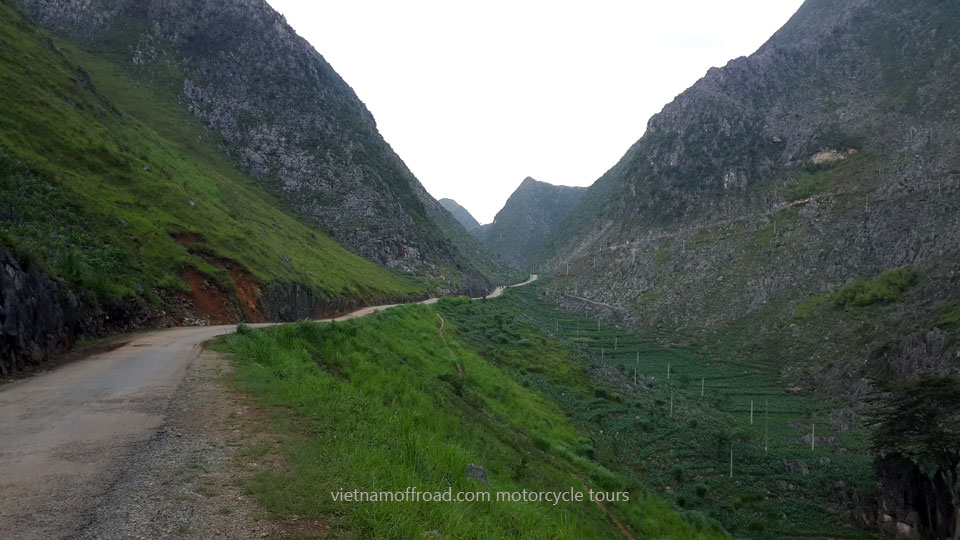 Ha Giang scenic country. Trans Vietnam tour in 25 days