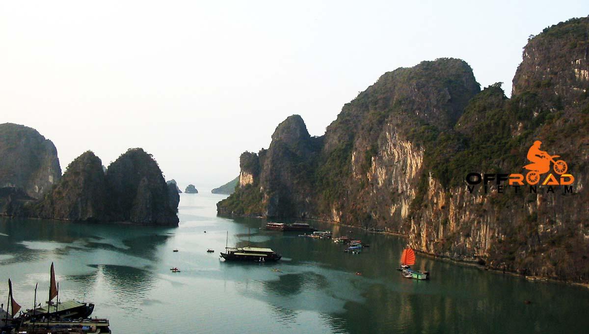 Offroad Vietnam Motorbike Adventures - Halong Bay motorbike cruise in 3 days.